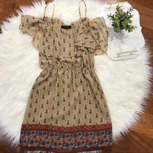 Jessica Simpson Tan Casual Dress